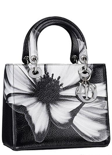 冷色调水彩画 迪奥Dior早秋水彩手袋 Dior包包